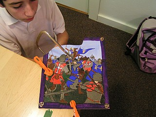 Cutting A Hand-Made Jigsaw puzzle
